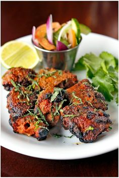 Dishoom has become synonymous with moreish Indian food designed to be eaten throughout the day. You'll find no tikka masala here! Try traditional lamb boti kababs for dinner tonight. This recipe was created by Dishoom's executive chef, Naved Nasir Easy Lamb Recipes, Indian Food Recipes, Chicken Recipes, Cooking Recipes, Ethnic Recipes, Recipes Using Lamb, Goat Recipes, Chicken Marinades, Bacon Recipes