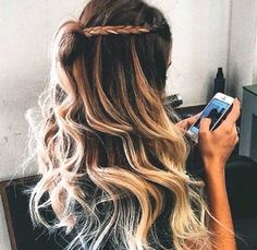 Image discovered by Mirajaine. Find images and videos about hair, beauty and blonde on We Heart It - the app to get lost in what you love. Love Hair, Gorgeous Hair, Hair Day, New Hair, Ombre Hair, Pastel Hair, Blonde Ombre, Pretty Hairstyles, Short Hairstyles