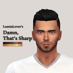 My Sims 4 Blog: Hair - Male