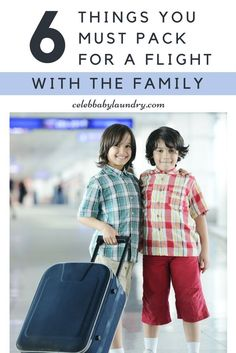 6 Things You MUST Pack For A Flight With The Family -  By Robyn Good Via Celeb Baby Laundry