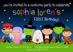 Little Monsters Birthday Invitation Template Free Printable