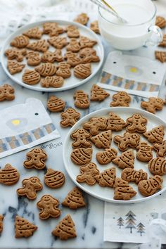 EN İYİ GINGERBREAD KURABİYELERİ - Damy's Kitchen