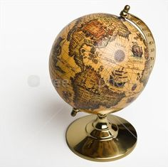 old fashioned globe