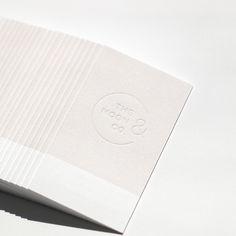MoonandCo | letterpress printed (blind deboss)
