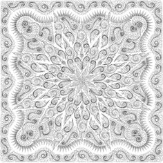 Feathered Star Queen Quilting Design