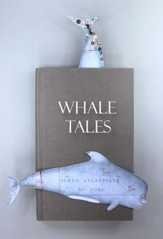 Kate Benbow has wonderful craft projects! Thanks for sharing :-) DIY Whale bookmarks with free printable