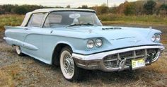 Current, past and maybe some future classics cars to be blessed with! American Classic Cars, Ford Classic Cars, Car Ford, Ford Trucks, Thunderbird Car, Unique Cars, Hot Cars, Vintage Cars, Dream Cars