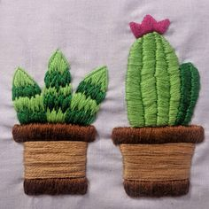 I'm not sure whether satin stitch is my thing or not! What do you think? Fashion Illustrations, Fashion Sketches, Plant Art, Satin Stitch, Cactus Plants, Hand Embroidery, Thinking Of You, Crafts, Handmade