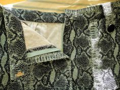 No hand sewing waistband