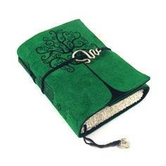 Swirl Tree -  Leather Journal