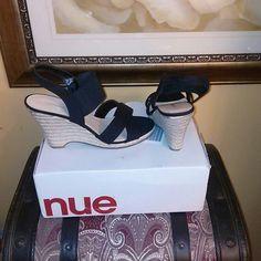 Wedge shoe Black Strap Avenue  Shoes Wedges