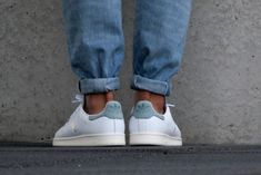 Adidas Stan Smith White/ Vapour Steel - S80025