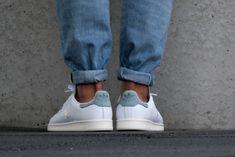 Adidas Stan Smith White/ Vapour Steel - S80025