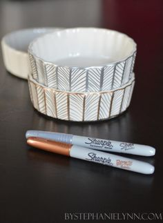 diy magic with metallic sharpies! #DIY