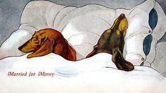 vintage dachshund valentine | The Long and Short of it All: A Dachshund Dog News Magazine: February ...