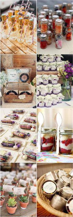 unique wedding favors-cheap wedding favor ideas #weddings #weddingideas #weddingfavors