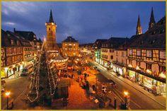 Fotos de Obernai, Navidad en Alsacia, Alsacia