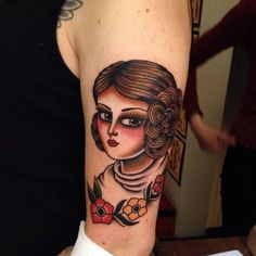By Kim-Anh Nguyen done at Seven Seas Tattoos Eindhoven....