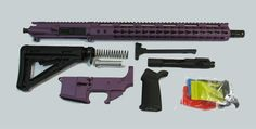 "Purple 16"" Rifle Kit 5.56 with Lower"