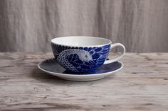 PREORDER WITH DELIVERY END OF OCTOBER: Selma tekopp med fat/teacup and saucer