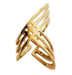 tribal-inspired ring