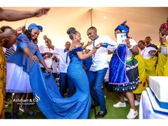 A Stylish Tswana Wedding - South African Wedding Blog