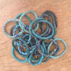 Roll-on Bracelets Trio – Peacock