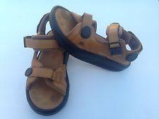 #MBT kisumu brown carmel leather toning rocker sandals Shoes Mens 6.5 Womens 8.5