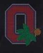 Ohio State Buckeyes O Rhinestone Transfer