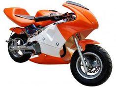 Mini Moto Automática R3 Gasolina e Óleo 49cc - Aro 6,5 Barzi Motors - Exclusivo Magazine Luiza Também nas cores azul e vermelha.