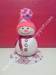 Otra variante del muñeco de nieve. ©by Sylvia M.G.D