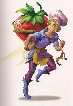 Dewberry, the garden sparrow man