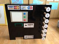 Winkelhoek - Bankautomaat Kids Microphone, Kids Daycare, Preschool, Restaurant, Ufc, Daycare Ideas, Kid Garden, Diner Restaurant, Nursery Rhymes