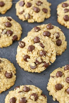 These Oatmeal Chocolate Chip Cookies are gluten free and diary free! They're easy to make and I might even like them better than my regular cookies! So I've been promising to make these cookies for a friend for probably about 2 years. I know, bad friend. But baking gluten/dairy free scared me. The hubs and …