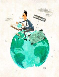 Miroslav Sasek - lovely illustration
