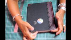 Hand bound book - Bookbinding - Encadernação artesanal -Quantidade de folhas em livros - Estúdio Brigit