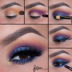 Beautiful #eyes this look is called Gypsy find out how you can get the look with #Motives #Cosmetics here: www.motivescosmetics.com/tompkins/learn/get-the-look/gypsy/1529?