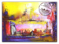Dubai Burj al Arab Original Gemälde Malerei Painting Bilder 60x80