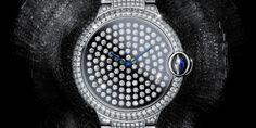 Ballon Bleu Serti brillant by Cartier