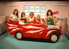 decorado fiesta grease - Buscar con Google
