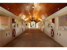 dream #barn and beautiful #stables