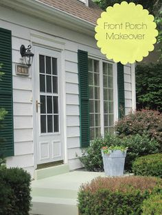 Front Porch Makeover by Decorated Chaos