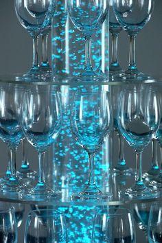 affichage lumineux de champagne à bulles acrylique de l'eau debout décoration de mariage, Vue champagne tour, Aqua Extreme Détails sur le produit de Zhongshan Aqua Extreme Lighting Factory sur Alibaba.com
