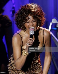 Singer Whitney Houston performs at the 2009 GRAMMY Salute To Industry Icons honoring Clive Davis at the Beverly Hilton Hotel on February 7, 2009 in Beverly Hills, California.
