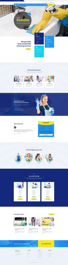 Buy Neateller - Cleaning Services PSD Template by ir-tech on ThemeForest. Neateller – Cleaning Service PSD Template is best suitable for cleaning, cleaning business, leaning Service, cleaner. Cleaning Companies, Cleaning Business, Cleaning Service, Room Darkening Blinds, House Movers, Ikea Kitchen Remodel, Page Layout, Layouts, Layout