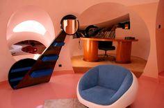space age interiors design