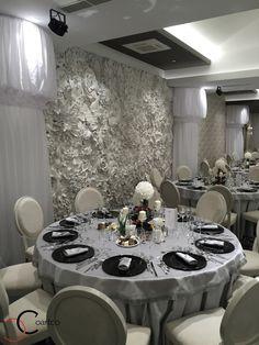 Panouri din polistiren 3D cu model floral pentru saloane de evenimente si nunti Table Settings, Interior, Floral, Design, Indoor, Flowers, Place Settings, Interiors