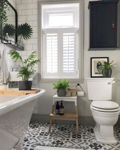 Modern Bathroom Decor Ideas Match With Your Home Design Style 02 Bathroom Windows, Bathroom Plants, Bathroom Floor Tiles, Shower Floor, Basement Bathroom, Bathrooms With Plants, Bedroom With Windows, Bathroom Window Privacy, Toilet Tiles