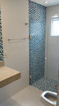 Tile is often the most used material in the bathroom — so choosing the right one is an easy way to kick up your bathroom's style. See how top designers create lovely loos with marble, ceramic, porcelain and glass tile. Modern Bathroom Tile, Cozy Bathroom, New Bathroom Ideas, Bathroom Tile Designs, Bathroom Floor Tiles, Modern Bathroom Design, Bathroom Interior Design, Small Bathroom, Tile Floor