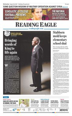 Today's Front Page, August 28, 2013